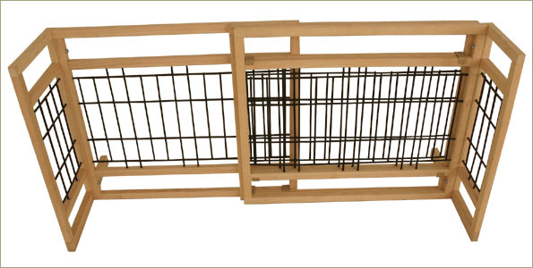 Adjustable Freestanding Dog Gate   Item# GM1203